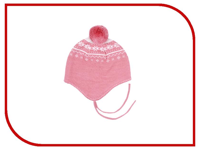 Шапочка Merri Merini 0-12 месяцев Pink-White MM-14G