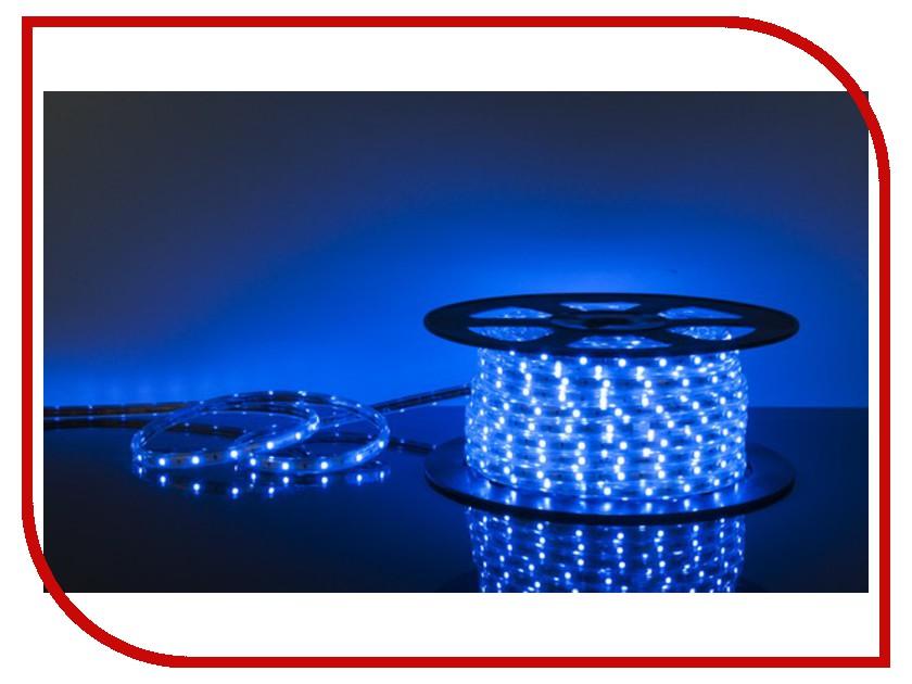 Светодиодная лента Elektrostandard LSTR002 220V 7.2W 50m 30 Led 5050 IP65 Blue<br>