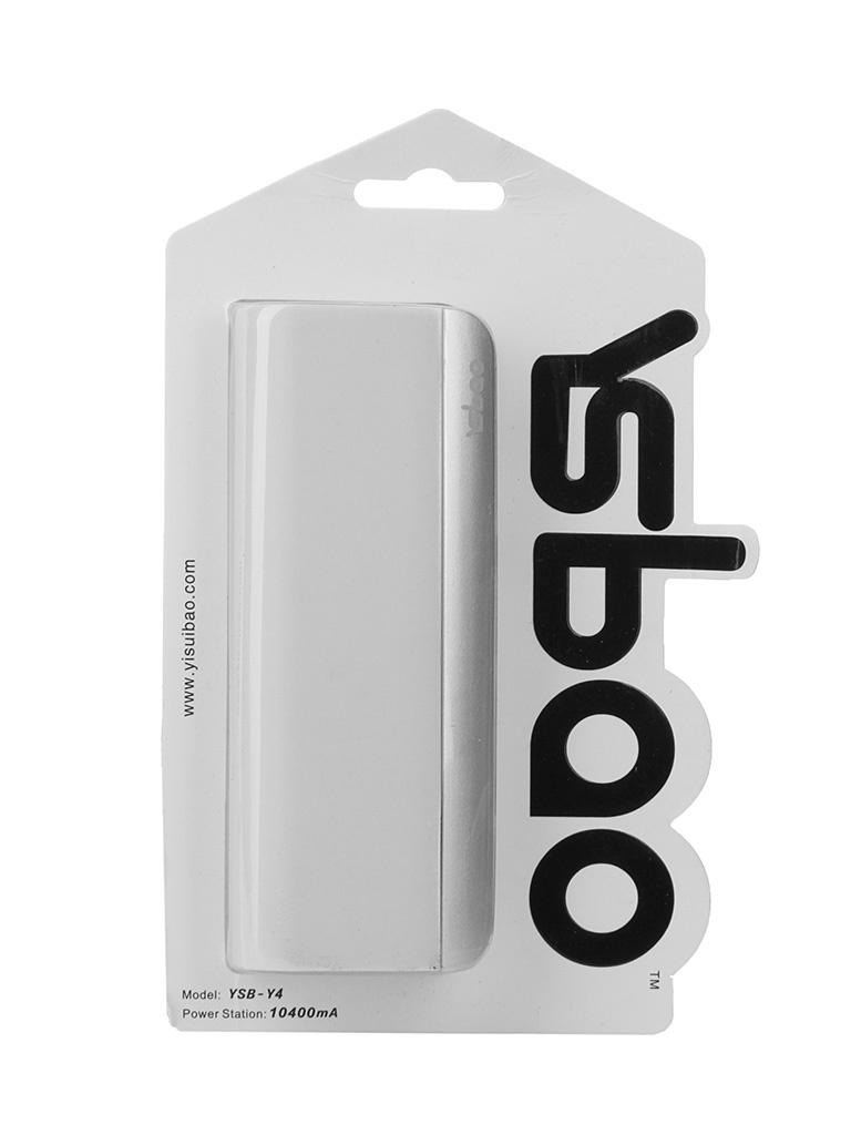 Аккумулятор Ysbao YSB-Y4 10400 mAh White 52205