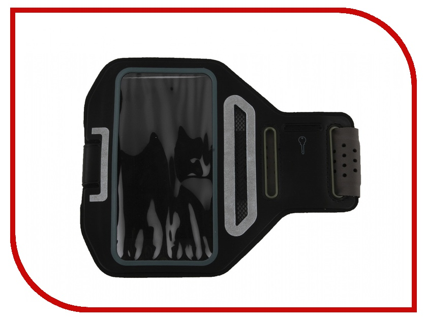 Аксессуар Чехол Activ 3.5-4.7-inch Armband Universal Grey 49193 аксессуар чехол накладка micromax canvas viva a106 activ silicone black mat 46857