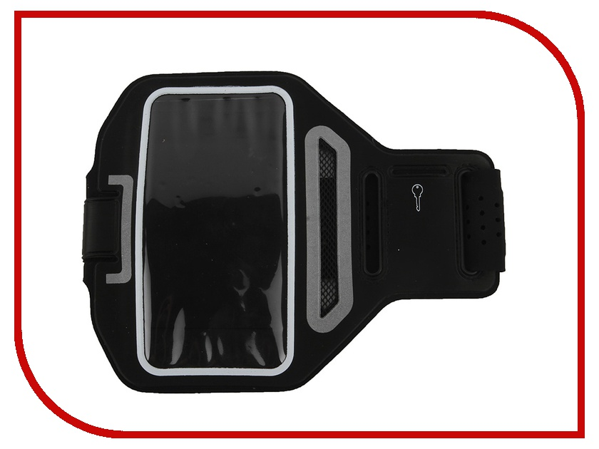 Аксессуар Чехол Activ 3.5-4.7-inch Armband Universal Black 49190 universal waterproof bag w built in compass armband strap for iphone cellphone black