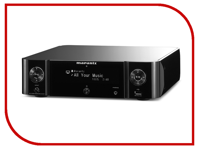 Сетевой аудио проигрыватель Marantz Melody Stream M-CR511 Black