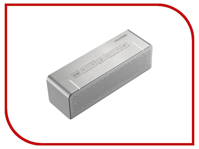 Колонка Microlab T5 20W RMS Bluetooth Silver колонка microlab d863bt blue