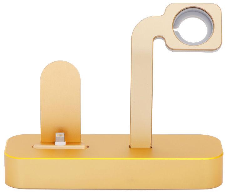 Аксессуар Док-станция COTEetCI Base Dock для iPhone / Apple Watch Gold