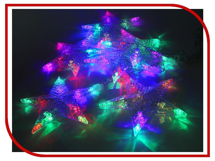 Гирлянда Новогодняя Сказка Звезды 60 LED 971606 Blue