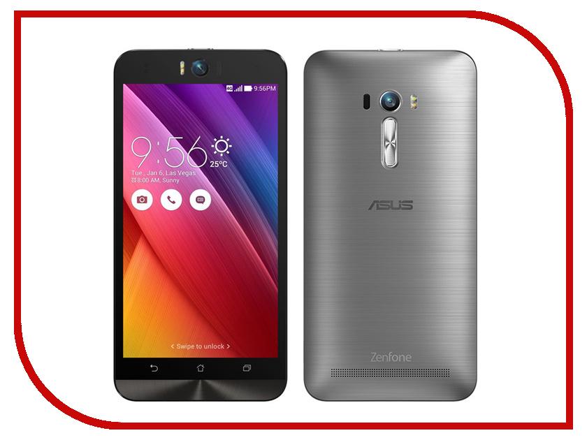 Сотовый телефон ASUS ZenFone 2 Selfie ZD551KL 16Gb Silver<br>