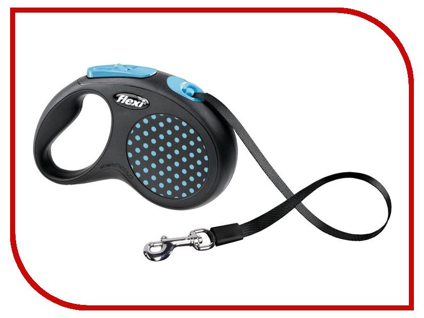 Рулетка FLEXI DESIGN M-L 5м до 50кг Blue стоимость