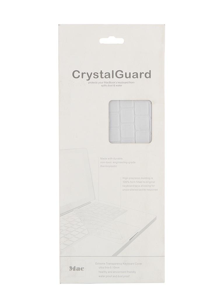 Аксессуар BTA CrystalGuard Clear Transparent Накладка на клавиатуру для ноутбука MacBook 13/14/15<br>