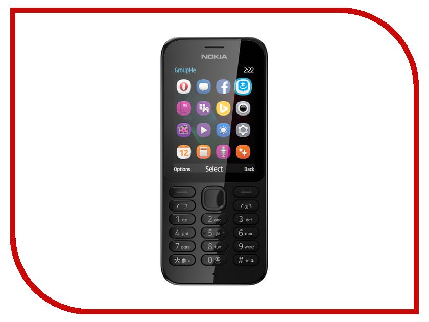 Сотовый телефон Nokia 222 Dual Sim Black
