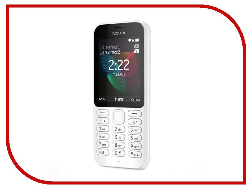 Сотовый телефон Nokia 222 Dual Sim White