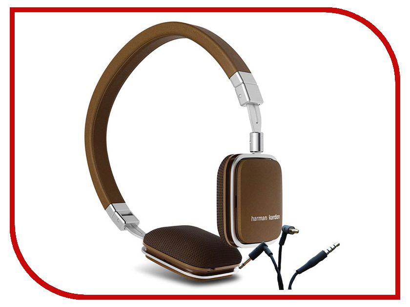 Наушники Harman Kardon SOHOBT HKSOHOBTBRN Brown наушники harman kardon sohobt черный