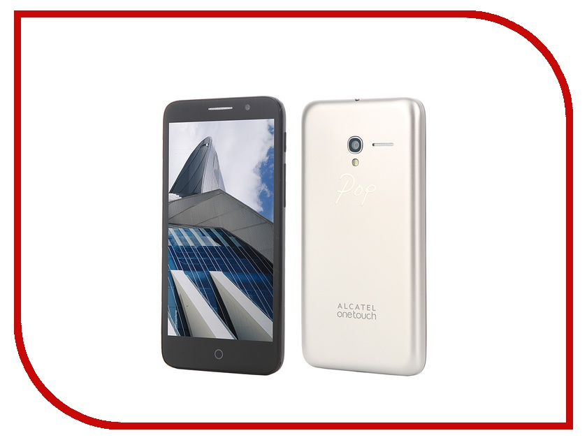 Сотовый телефон Alcatel OneTouch 5015D Pop 3 (5) Soft Gold<br>