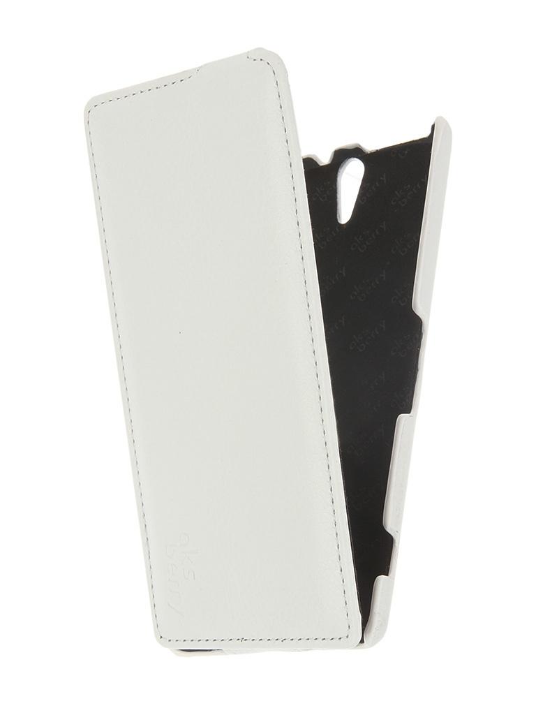 Аксессуар Чехол Sony Xperia C5 Ultra / C5 Ultra Dual Aksberry White<br>