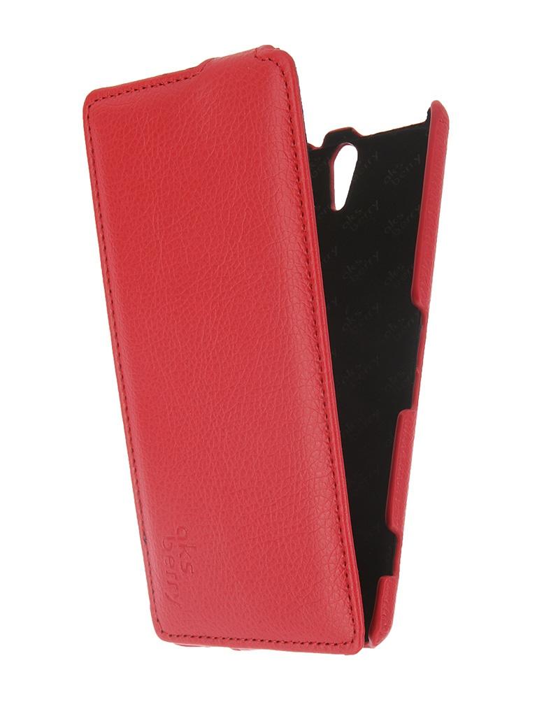 ��������� �����-������ Sony Xperia C5 Ultra / C5 Ultra Dual Aksberry Red