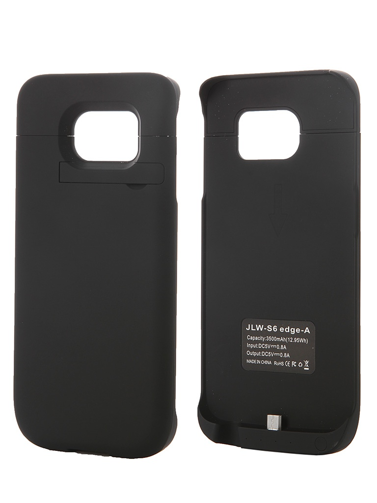 Аксессуар Чехол-аккумулятор Samsung SM-G925 Galaxy S6 Edge Aksberry S6 edge-A 3500mah Black