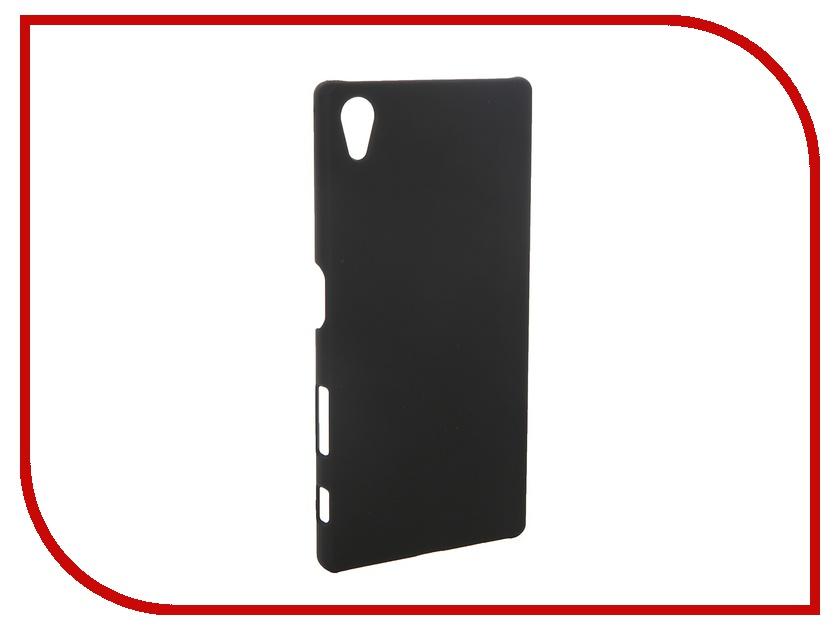 Аксессуар Чехол-накладка Sony Xperia Z5 SkinBox 4People Black T-S-SXZ5-002 + защитная пленка<br>