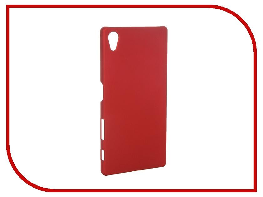 Аксессуар Чехол-накладка Sony Xperia Z5 SkinBox 4People Red T-S-SXZ5-002 + защитная пленка<br>