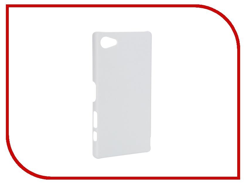 Аксессуар Чехол-накладка Sony Xperia Z5 Compact SkinBox 4People White T-S-SXZ5C-002<br>