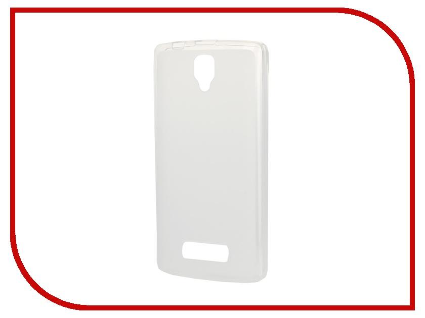 Аксессуар Чехол-накладка Lenovo A2010 SkinBox 4People Silicone Case Transparent T-P-LA2010-002<br>