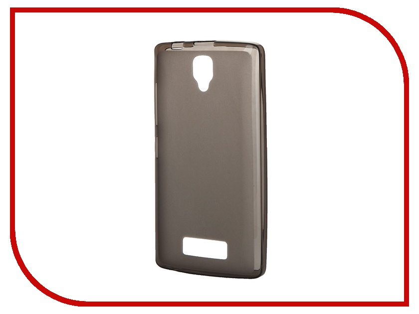 Аксессуар Чехол-накладка Lenovo A2010 SkinBox 4People Silicone Case Brown T-P-LA2010-002<br>