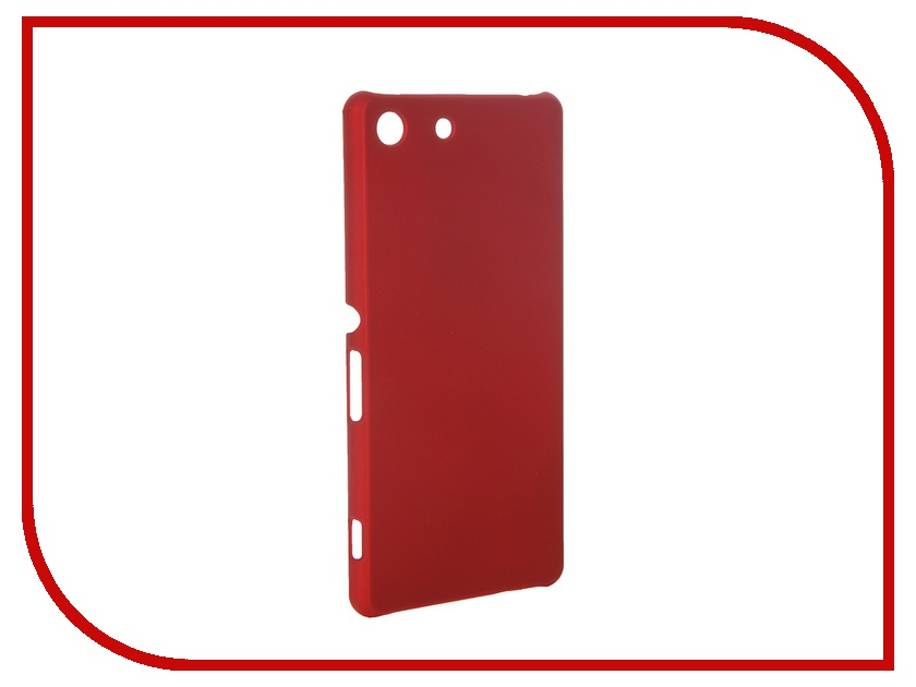 ��������� �����-�������� Sony Xperia M5 SkinBox 4People Red T-S-SXM5-002 + �������� ������