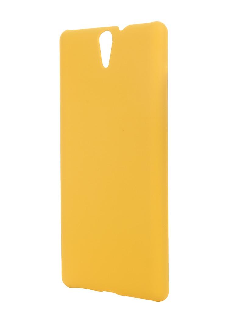 ��������� �����-�������� Sony Xperia C5 Ultra SkinBox 4People Yellow T-S-SXC5U-002 + �������� ������