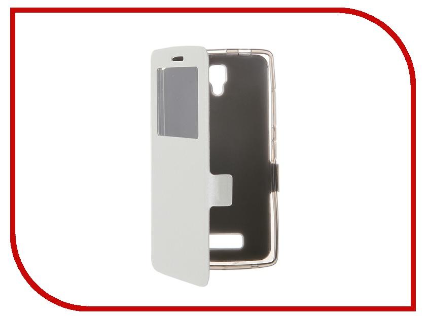 Аксессуар Чехол Lenovo A2010 Prime Book White T-P-LA2010-05<br>