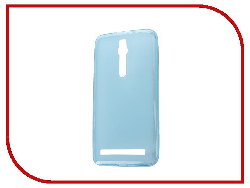 ��������� �����-�������� ASUS Zenfone 2 ZE551ML/ZE550ML SkinBox 4People Silicone Case Blue T-P-AZE551-002