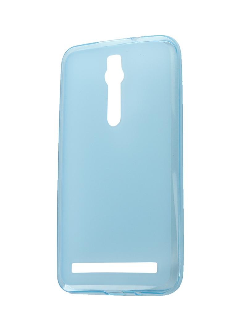 Аксессуар Чехол-накладка ASUS Zenfone 2 ZE551ML/ZE550ML SkinBox 4People Silicone Case Blue T-P-AZE551-002<br>