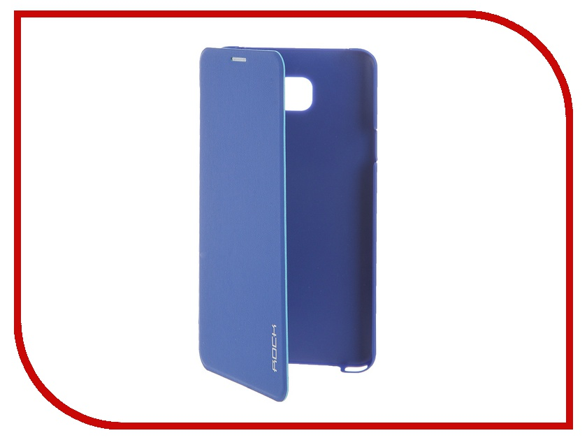 Аксессуар Чехол Samsung Galaxy Note 5 ROCK Touch Series Blue<br>