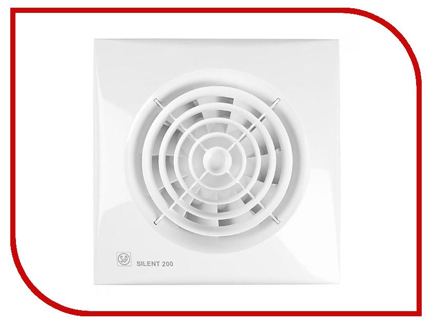 Вытяжной вентилятор Soler &amp; Palau SILENT-200 CZ White<br>