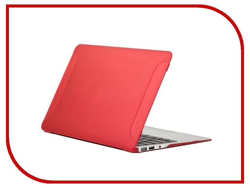 Аксессуар Чехол 11-inch BTA Workshop для APPLE MacBook Air 11 Red<br>