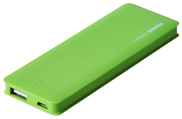 Аккумулятор Remax Power Bank Candy bar 5000 mAh Green