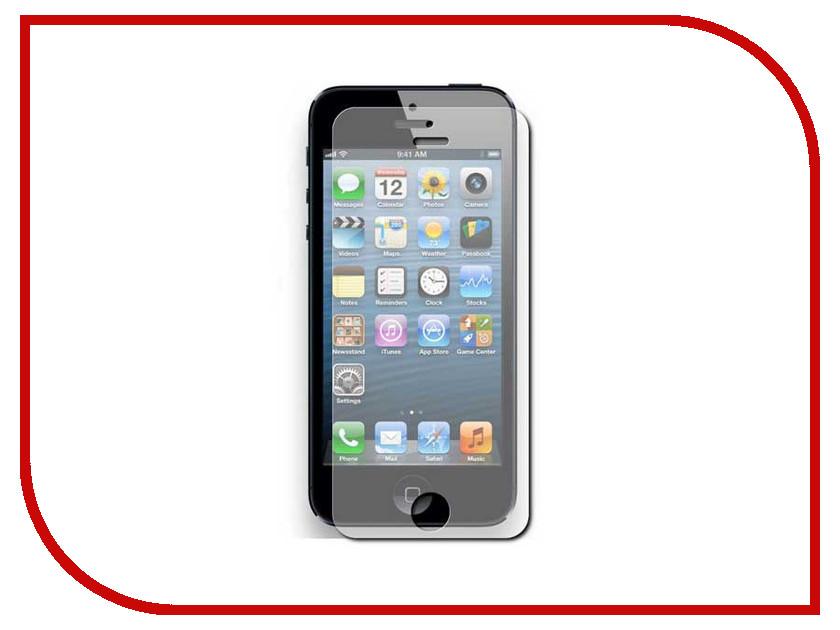 Аксессуар Защитное стекло Onext для iPhone 5 / 5C / 5S Royal Blue 40742<br>