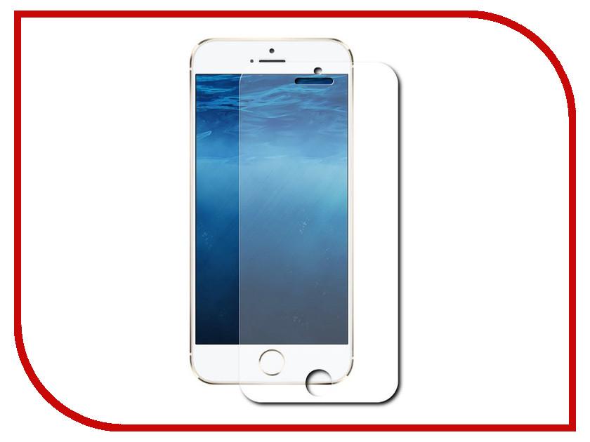 Аксессуар Защитное стекло Onext для iPhone 6 Plus с рамкой White 40936