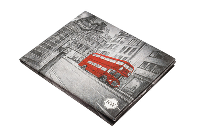 Аксессуар New Wallet NW-022 Red Bus