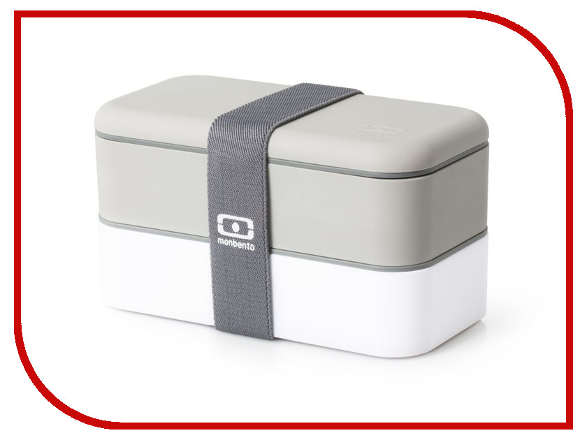 Ланч-бокс Monbento MB Original White-Grey 1200 02 110