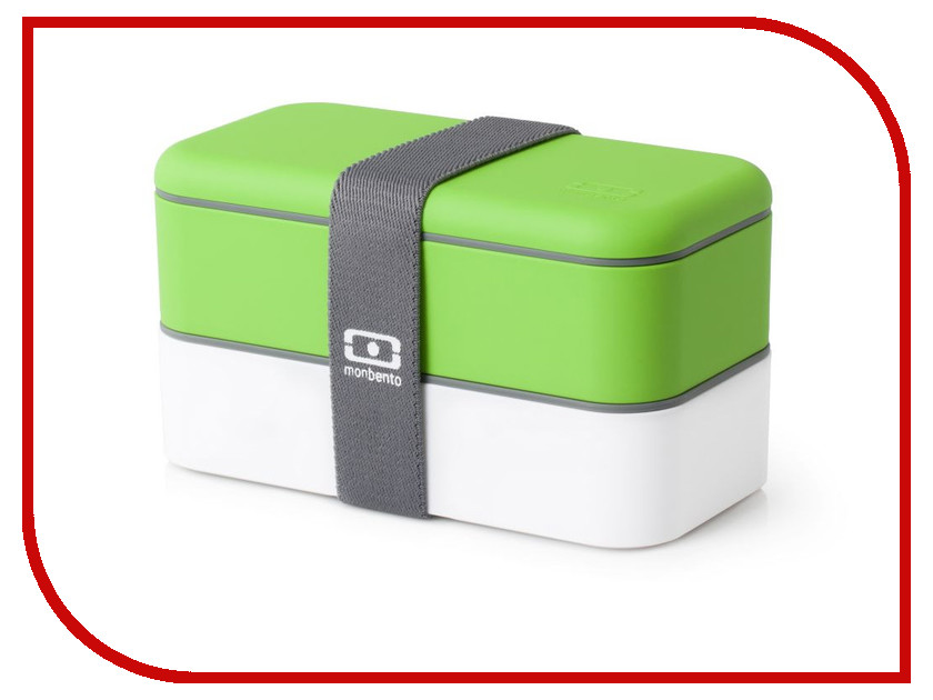 Ланч-бокс Monbento MB Original White-Green 1200 02 105 ланч бокс mb original new edition litchi