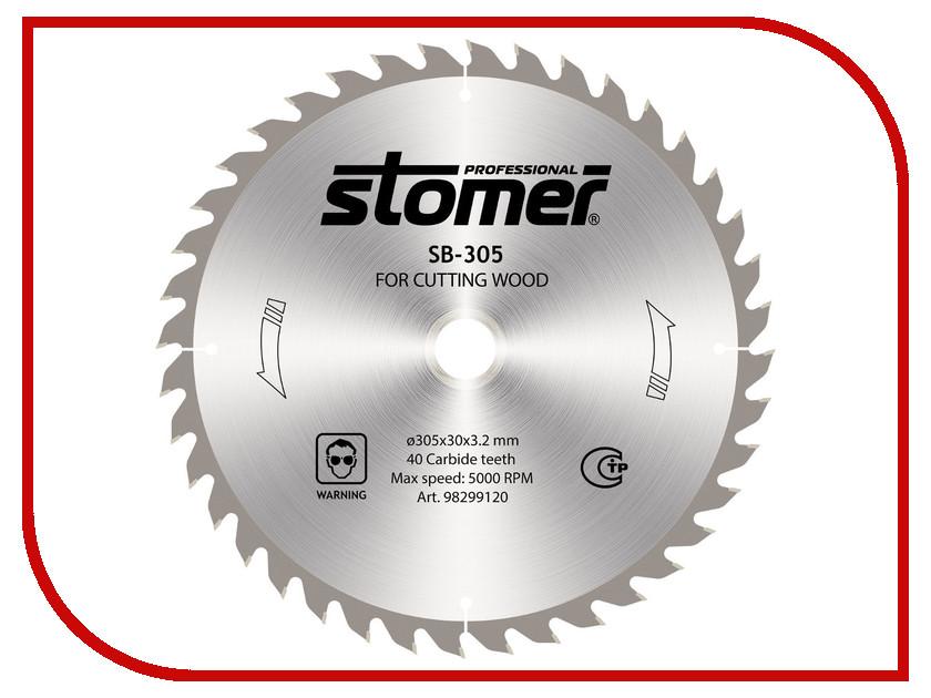 ���� Stomer SB-305 �������, �� ������, 305x30mm, 40 ������