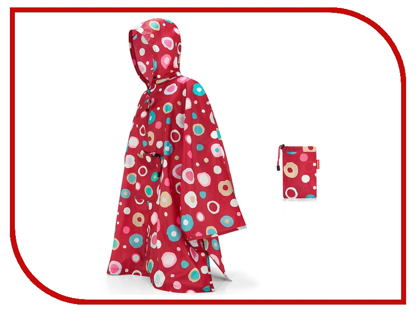 Плащ-дождевик Reisenthel Mini Maxi р.UNI 141x116cm Funky Dots 2 AN3048 грех история страсти