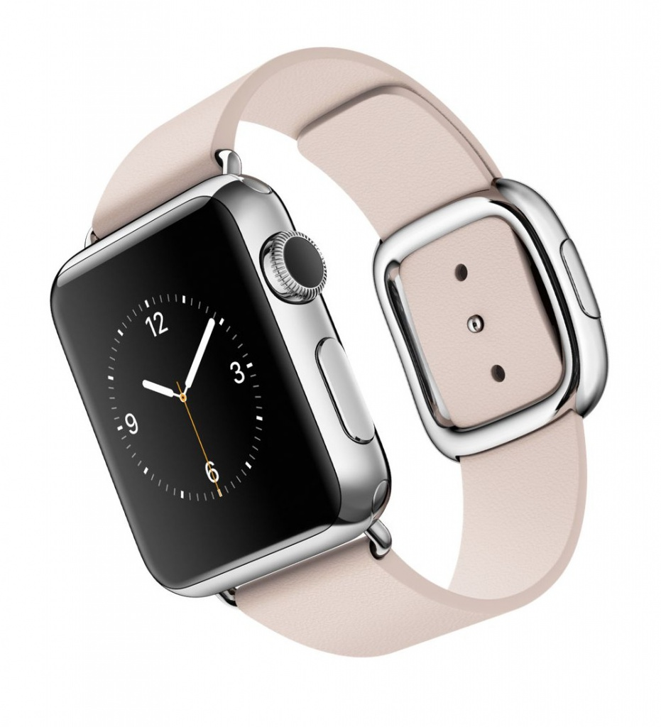 Умные часы APPLE Watch 38mm with Soft Pink Modern Buckle Small MJ362RU/A