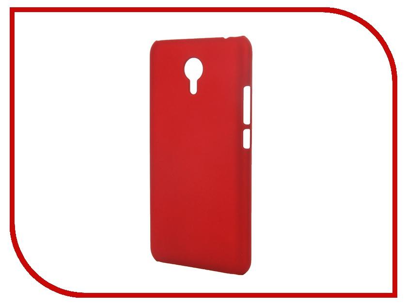 Аксессуар Чехол-накладка Meizu M2 Note SkinBox 4People Red T-S-MM2N-002 + защитная пленка<br>