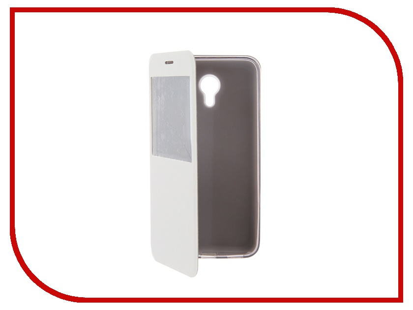 Аксессуар Чехол Meizu M2 Note SkinBox Lux AW White T-S-MM2N-004<br>