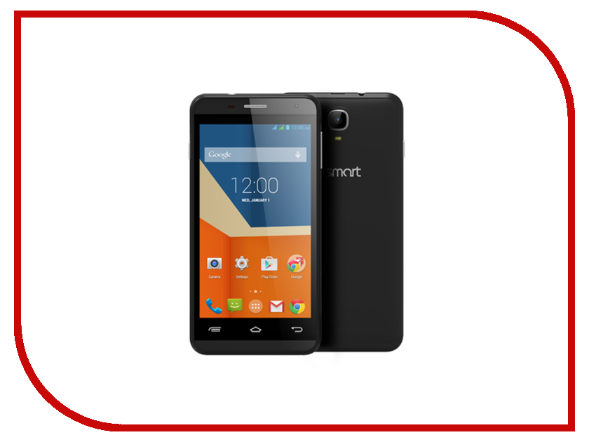 Сотовый телефон GigaByte GSmart Essence Black<br>