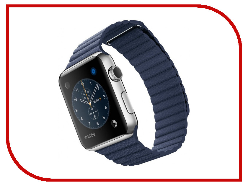 ����� ���� APPLE Watch 42mm with Midnight Blue Modern Buckle Large MLFD2RU/A