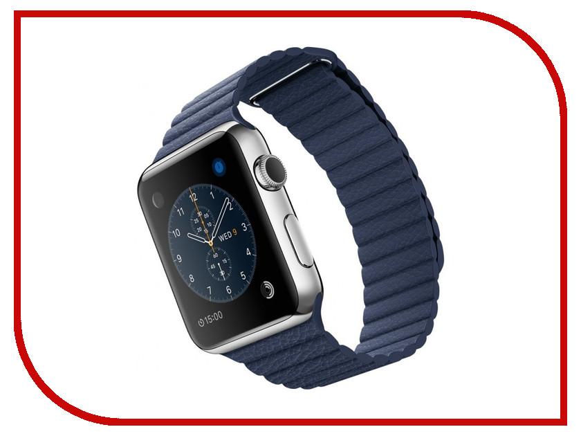 Умные часы APPLE Watch 42mm with Midnight Blue Modern Buckle Large MLFD2RU/A<br>