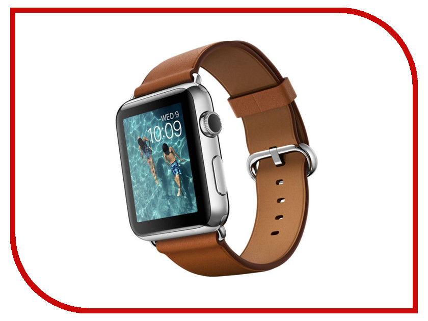 Умные часы APPLE Watch 42mm with Saddle Brown Classic Buckle MLC92RU/A<br>
