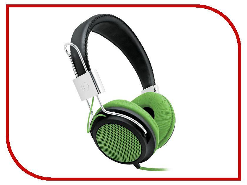 Наушники BBK EP-3500S Black-Green<br>
