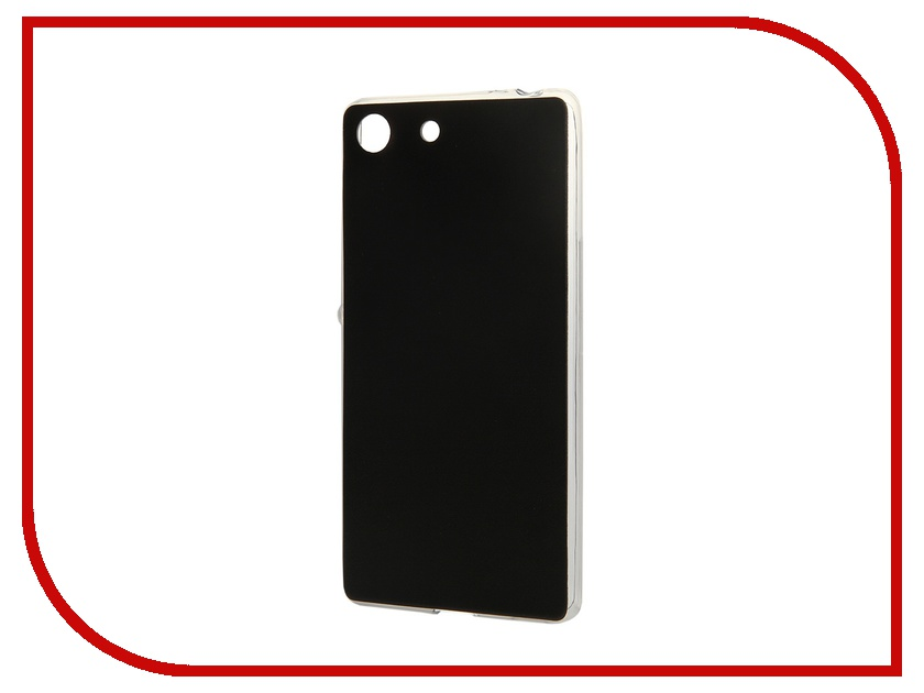 ��������� �����-�������� Sony Xperia M5 BROSCO Black M5-LEATHER-TPU-BLACK