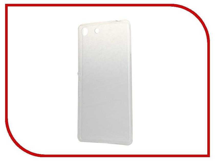 Аксессуар Чехол-накладка Sony Xperia M5 BROSCO Transparent M5-TPU-TRANSPARENT